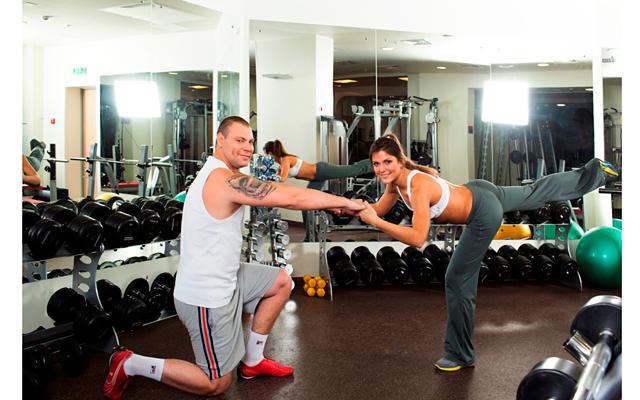Комплекс упражнений для двоих от Анны Миляевой