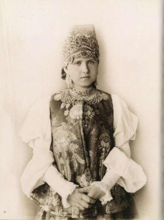 Какими были русские красавицы до Революции