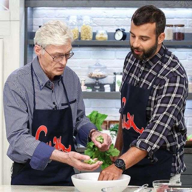 Он еще и готовить умеет: Рецепт пирога от Бориса Щербакова