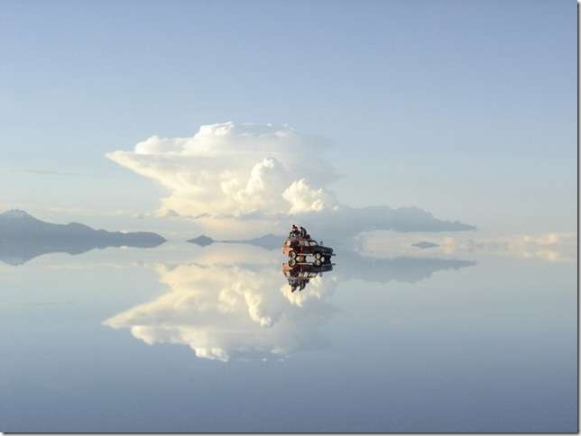 Солончак Уюни - соленое озеро Боливии