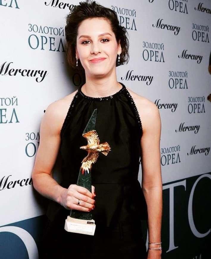 Ирина Горбачева получила награду за лучшую женскую роль