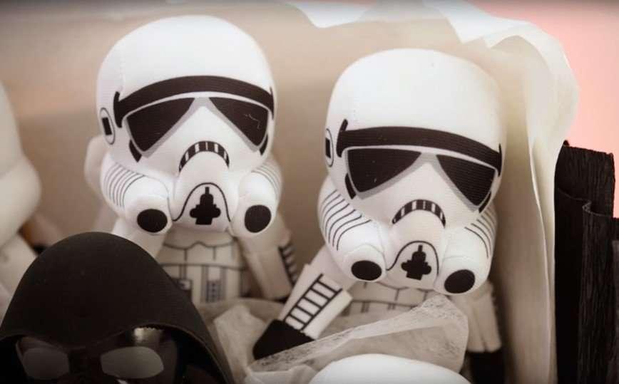 Герои звездных войн в букете