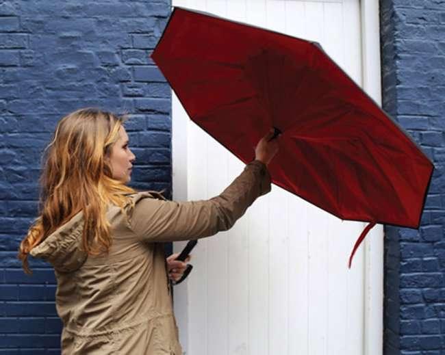 Хитроумный зонтик