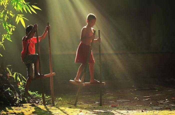 Яркие будни индонезийской деревни