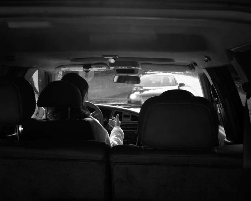 Жизнь без телефонов в фотографиях Эрика Пикерсгиля